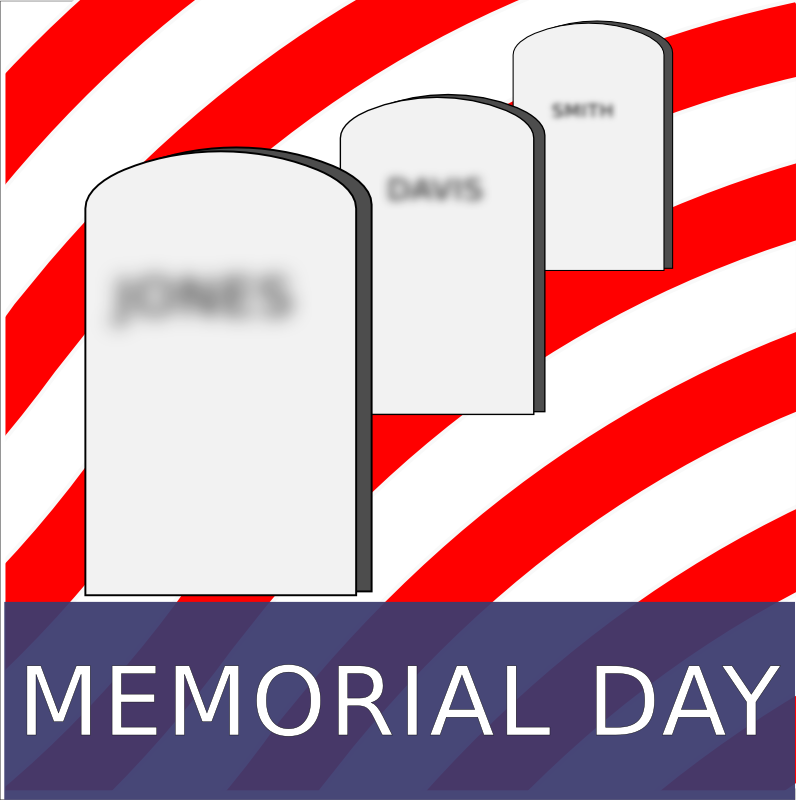 Clipart - Memorial Day (US)