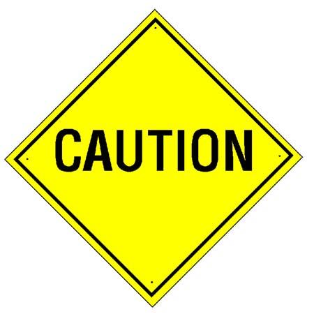 Caution Sign Clipart - Cliparts.co
