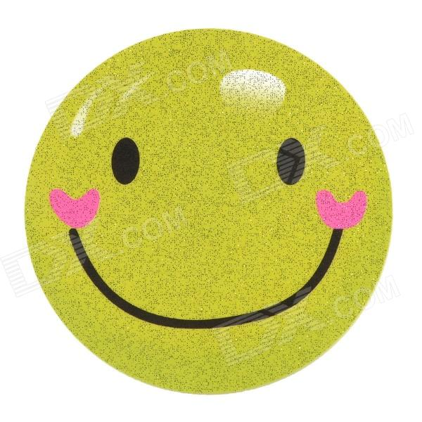 DIY T-Shirt Iron-On Transfer Sticker - Yellow Green (Smiling Face ...