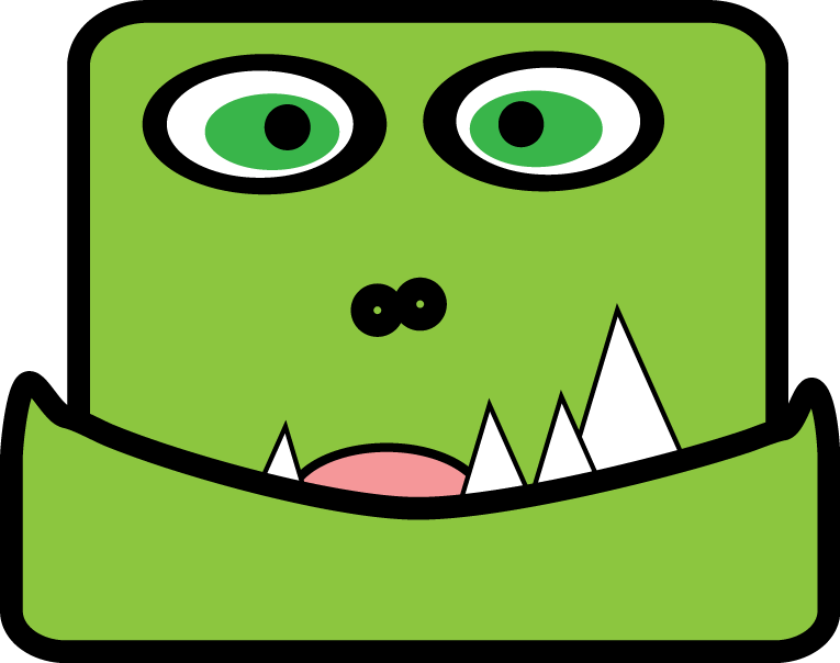 cute monster clipart   cliparts co