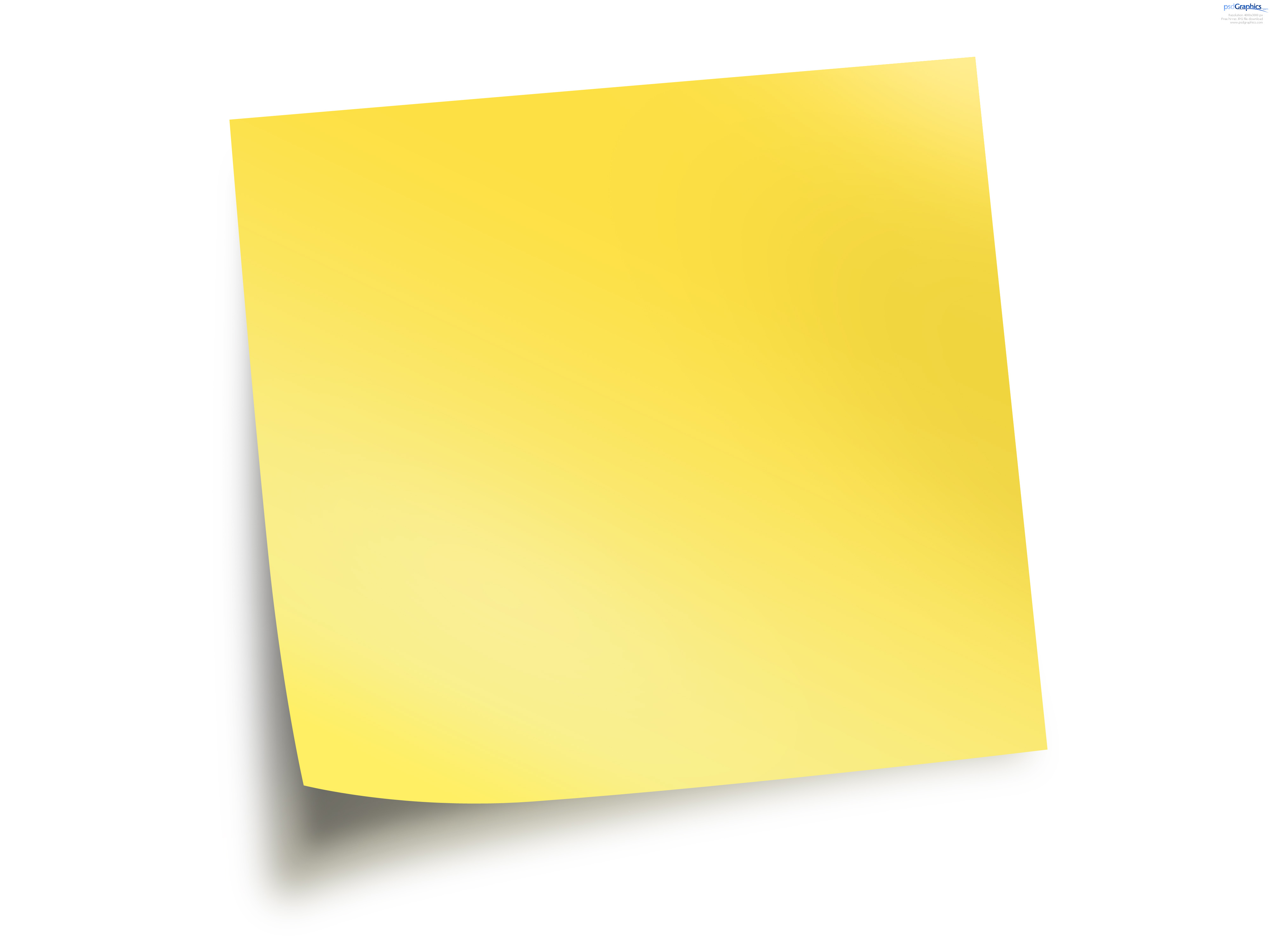Pix For > Blue Post It Note Png