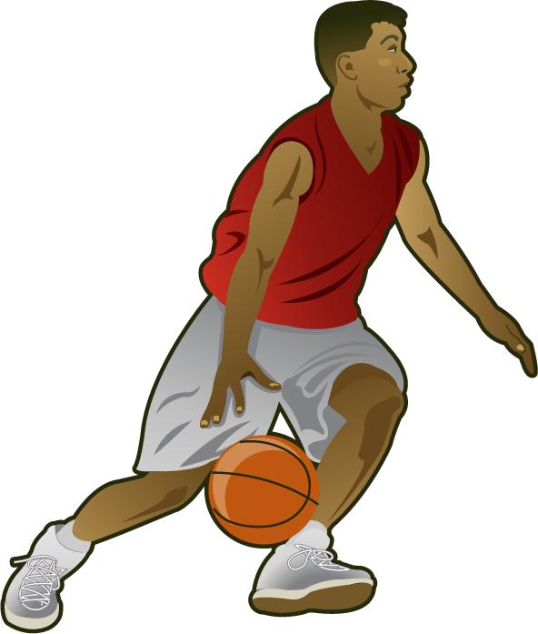 Basketball Player Clipart - Cliparts.co