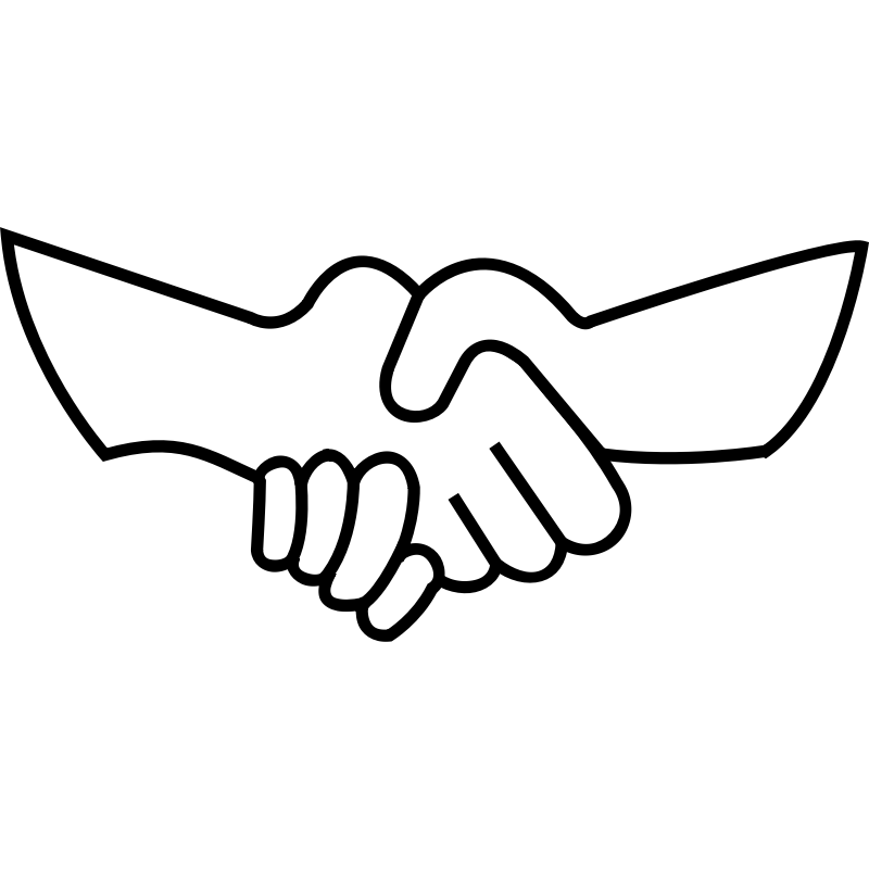 Handshake Clipart Png Images & Pictures - Becuo