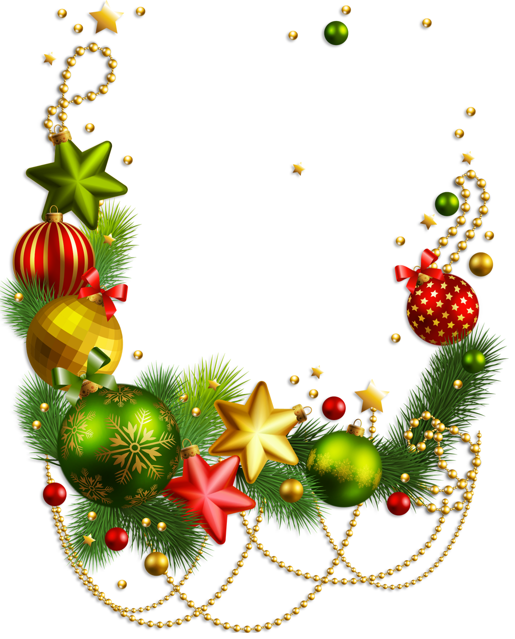 Clip art christmas decorations for Christmas decorations