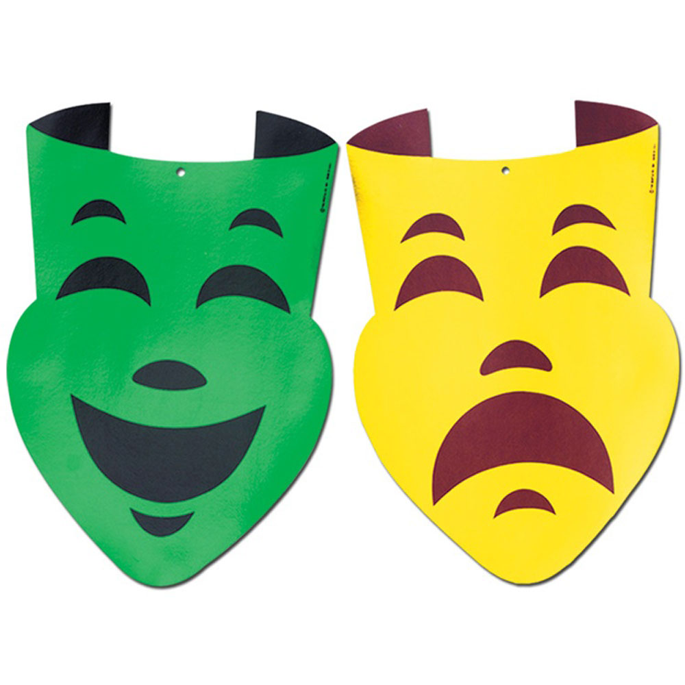 Comedy And Tragedy Masks Images - 92.5KB