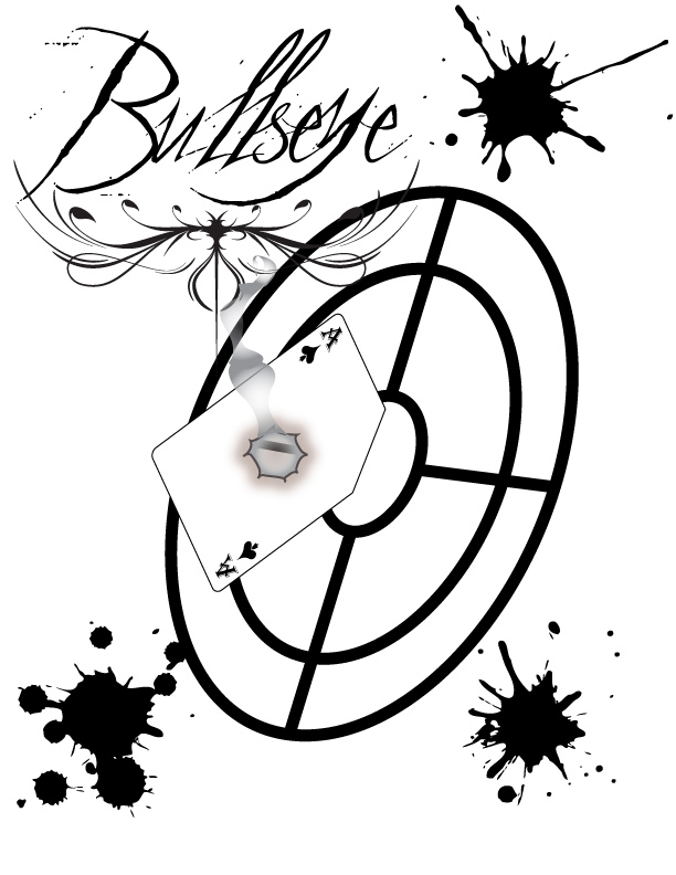 Bullseye by blindacolyte on deviantart for Bullseye coloring page