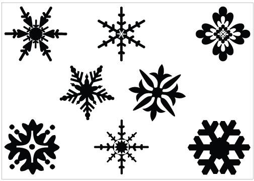 Snowflake Graphic - Cliparts.co