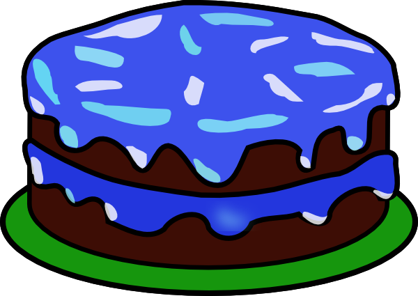 Cake With No Candles Clipart