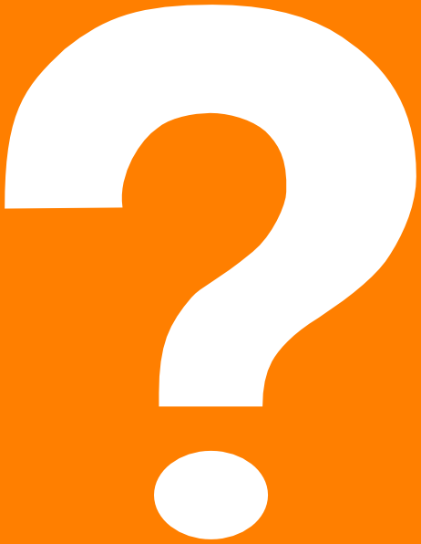 Orange Question Mark Clipart | Clipart Panda - Free Clipart Images