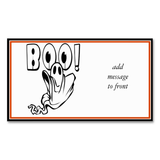 Boo The Ghost Business Cards, 72 Boo The Ghost Business Card Templates