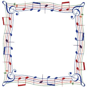 Music Note Borders - Cliparts.co