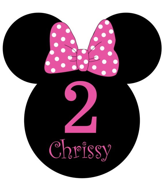 Minnie Mouse Bow Template Pink - ClipArt Best