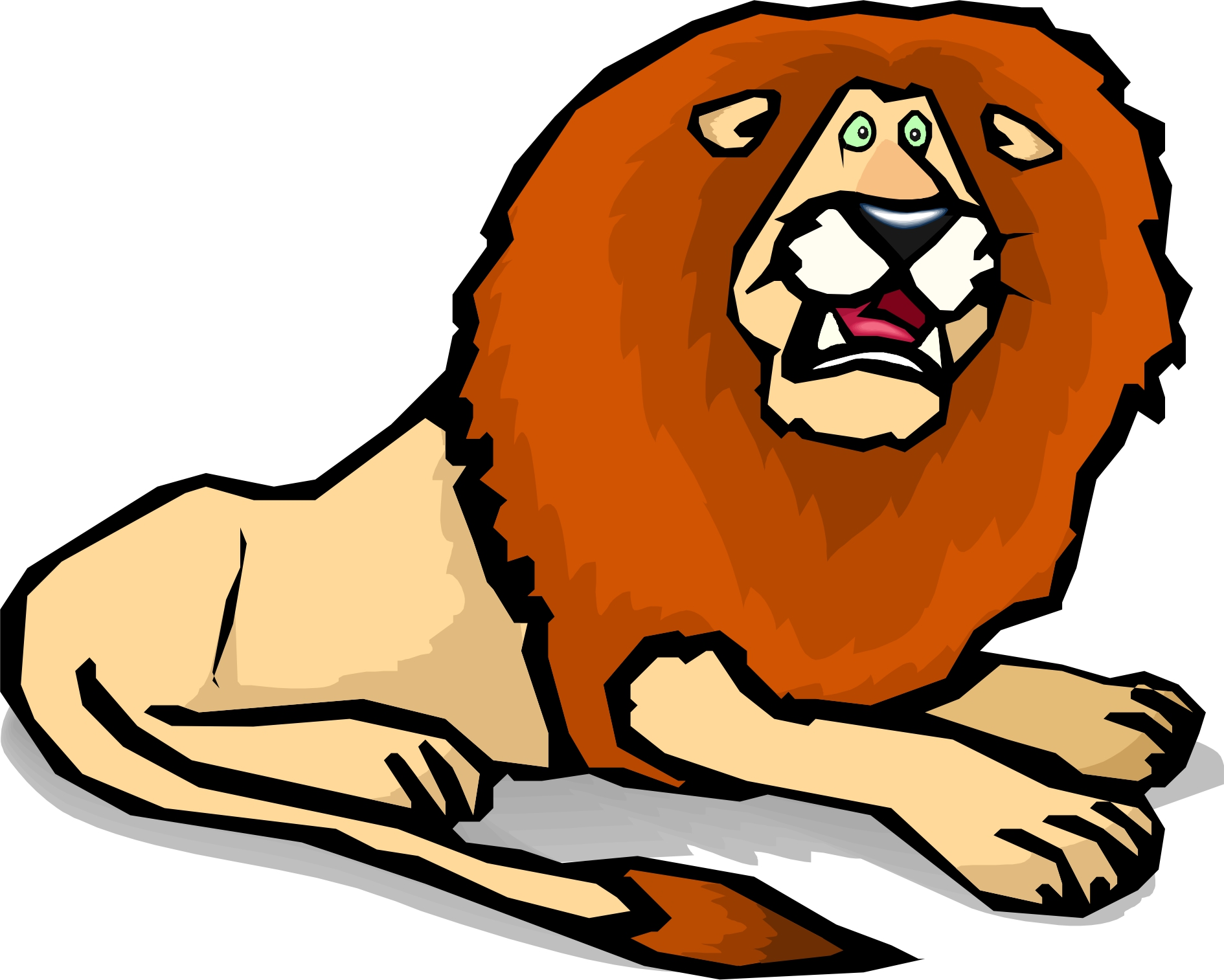 Cartoon Lion Images - Cliparts.co