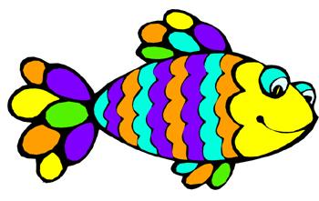 Pretty Cartoon Fish - Cliparts.co