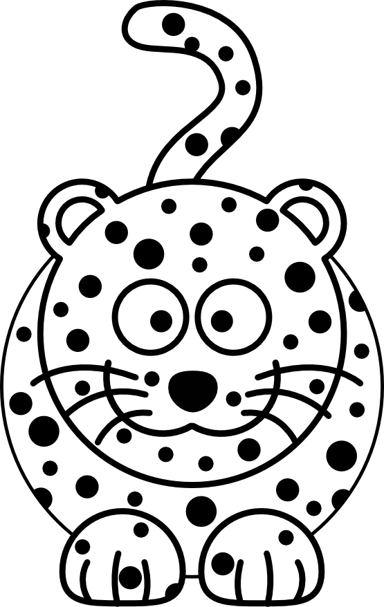 Leopard Kids Craft