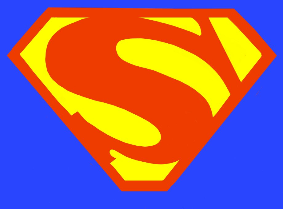 7 Best Images of Printable Superman Logo Alphabet