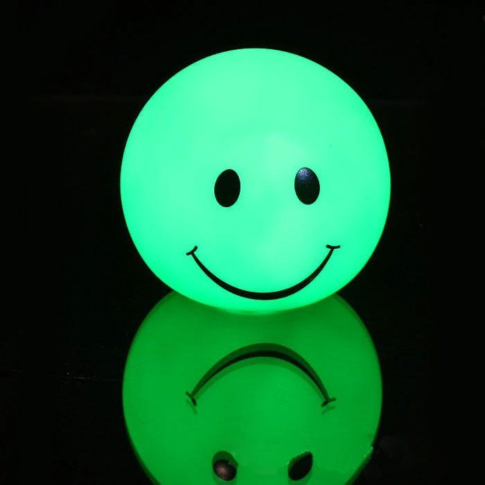 A0012 LED Night Light with PVC Smiling Face Electronic Transformer ...