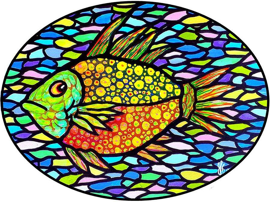Speckled tropical fish by jim harris speckled tropical for Jims exotic fish