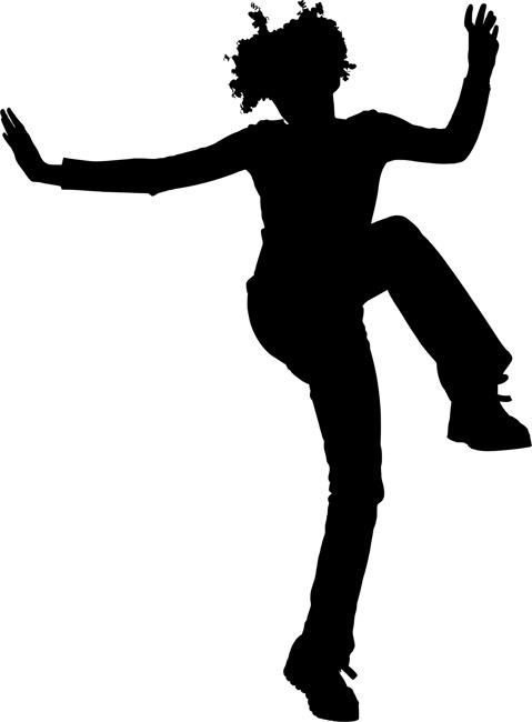 Pretty Girl With Gray Hat Dancing Ballet Stock Photo ... |Pretty Girl Dance Stencil