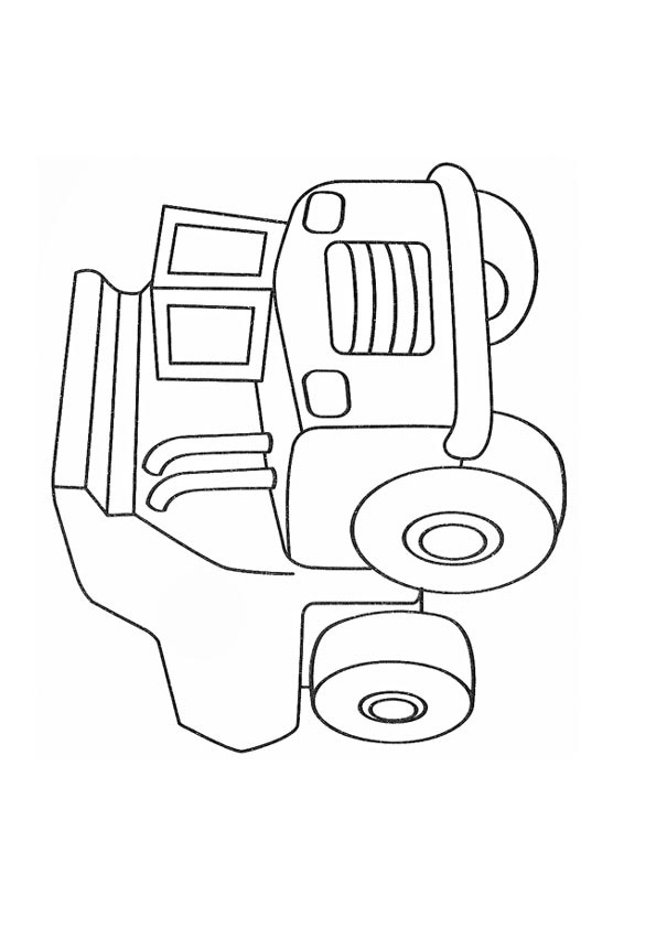 cars coloring pages mack - photo#25