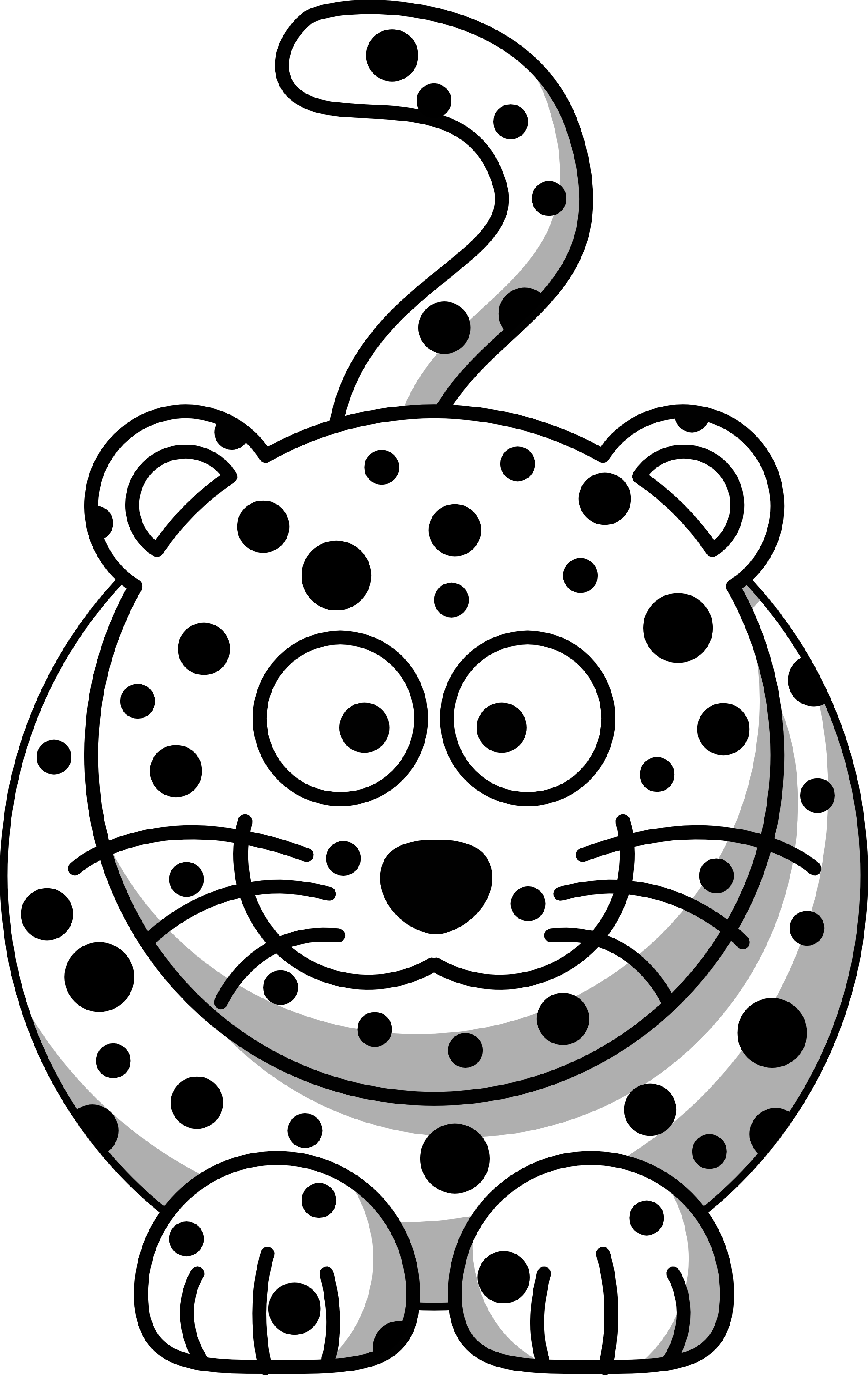 Cartoon Leopard Clipartsco