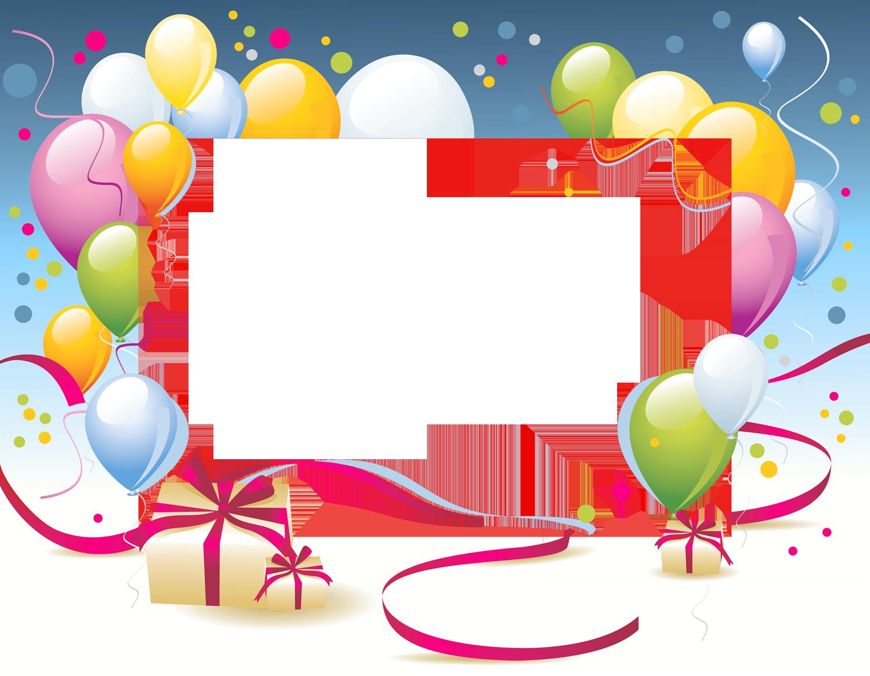 clipart birthday frames - photo #34