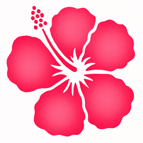 Free Hibiscus Flower Designs