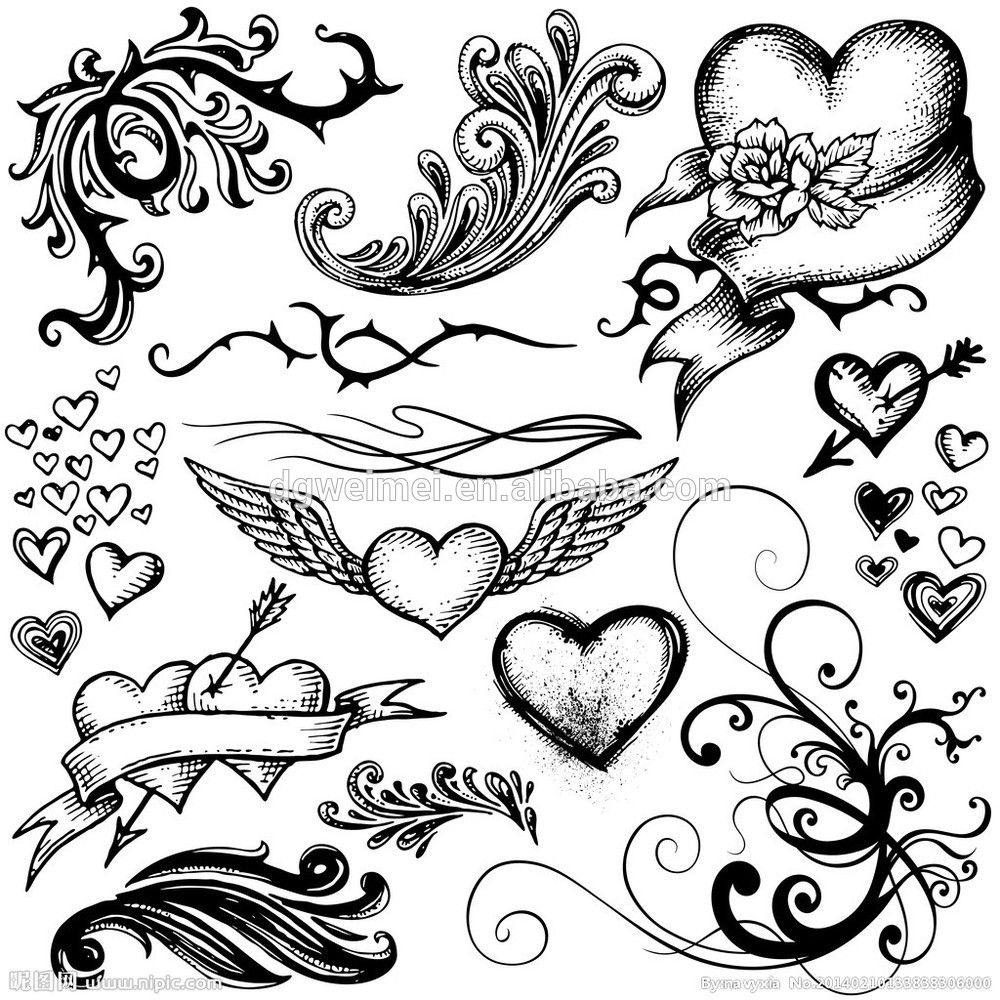 Design a bike sticker - Black Only New Design Angel Temporary Body Tattoo Sticker Buy