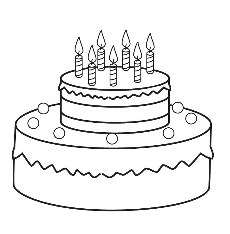 Birthday | Free Coloring Pages - Part 6
