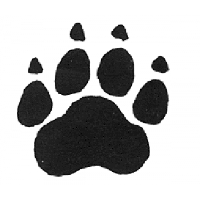 Dog Paw Rubber Stamp Cliparts Co