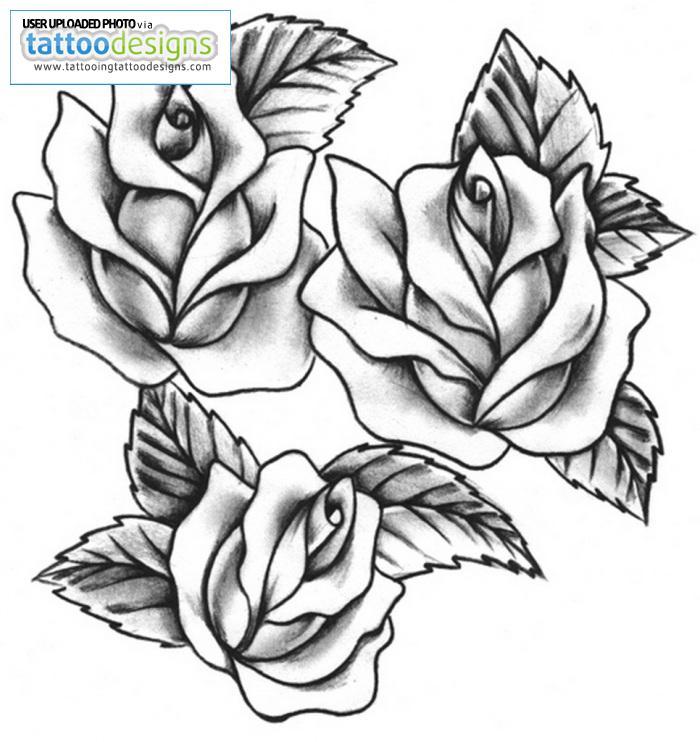 Diamond tattoo stencil