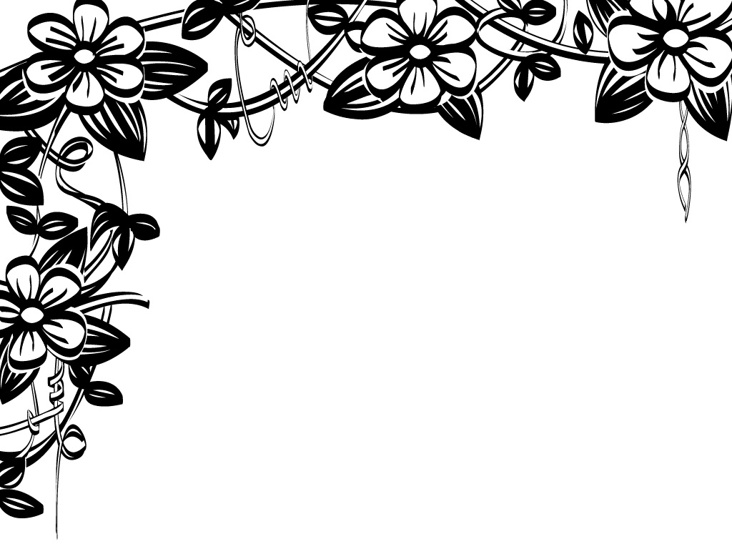 Flowers Clip Art Border Free Download | Free Download Wallpaper ...
