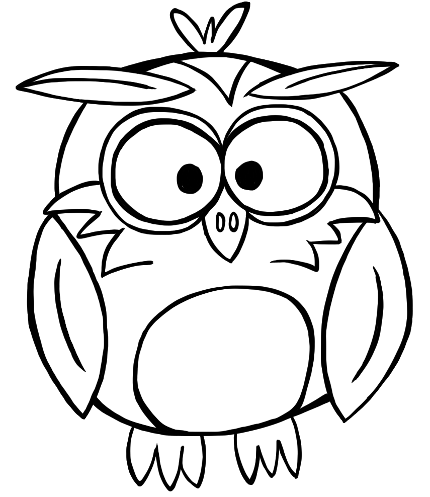 Black And White Owl Clip Art - Cliparts.co