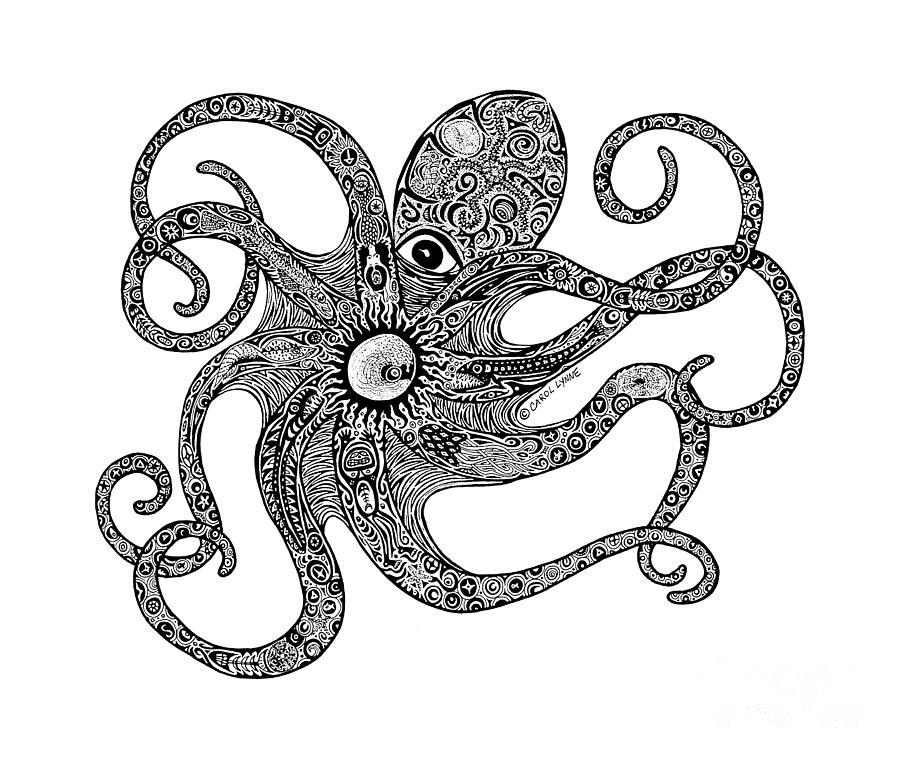 Octopus Outline Clipartsco