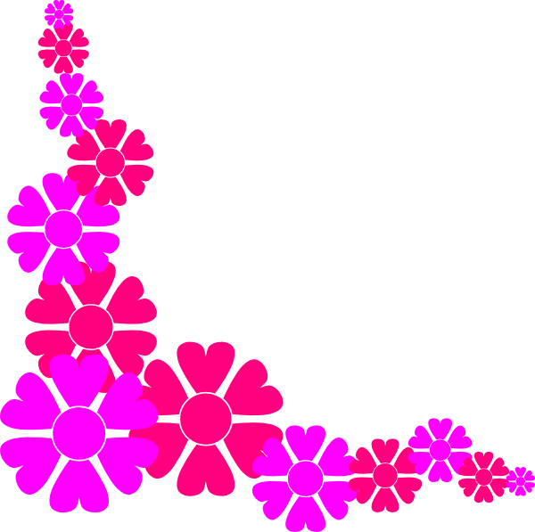 Pink Corner Borders Clip Art - ClipArt Best