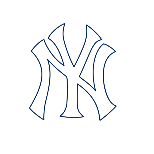 picture relating to Ny Yankees Printable Schedule referred to as Ny Yankees Brand Clip Artwork -