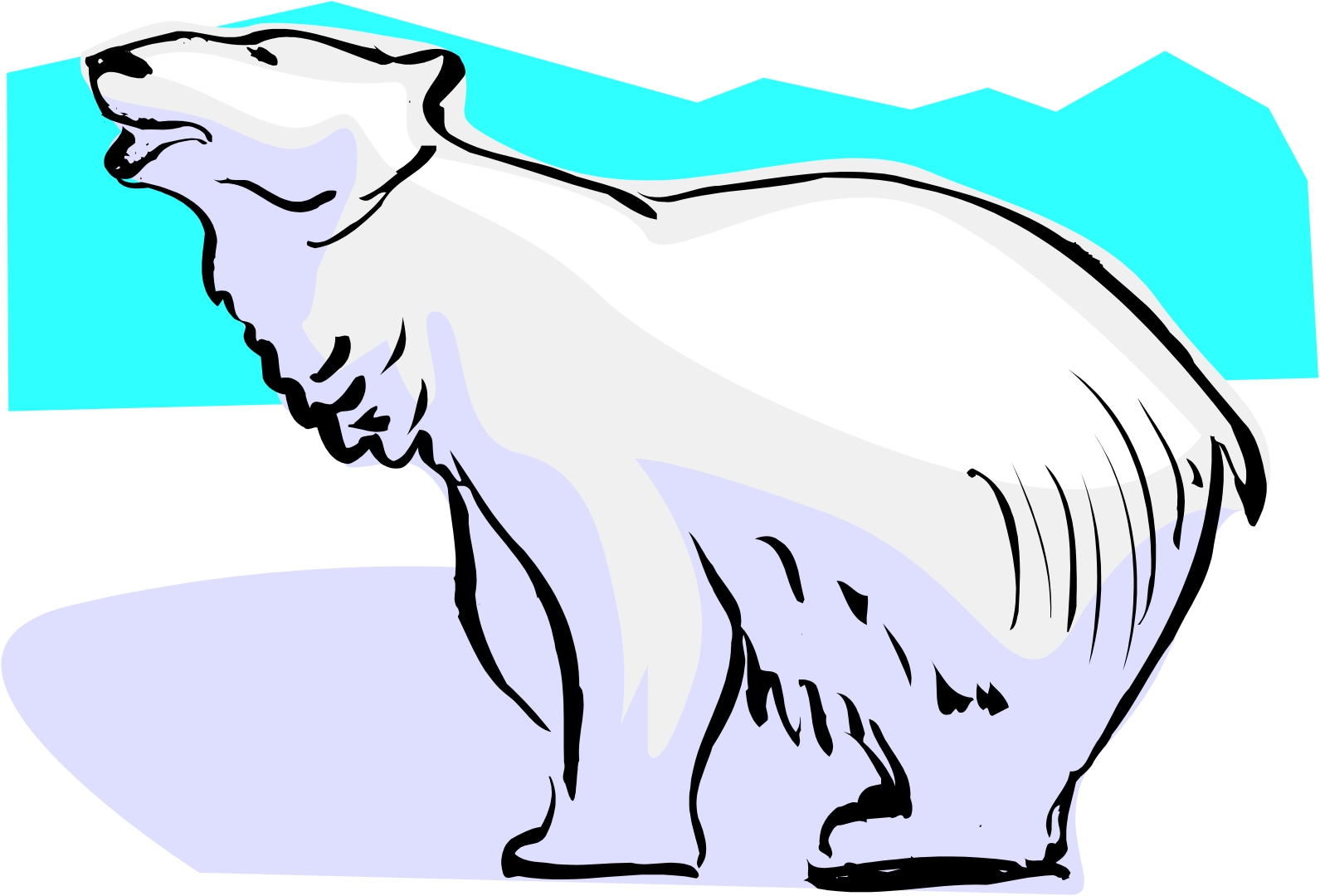 Polar Bears Cartoon - Cliparts.co