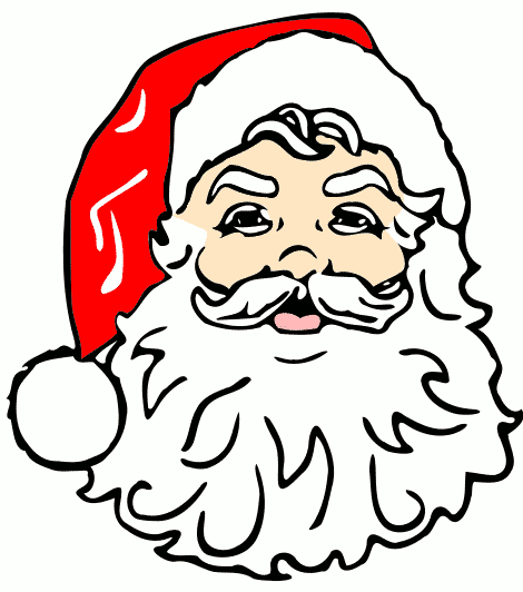 Santa Claus Beard Clip Art Images & Pictures - Becuo ...