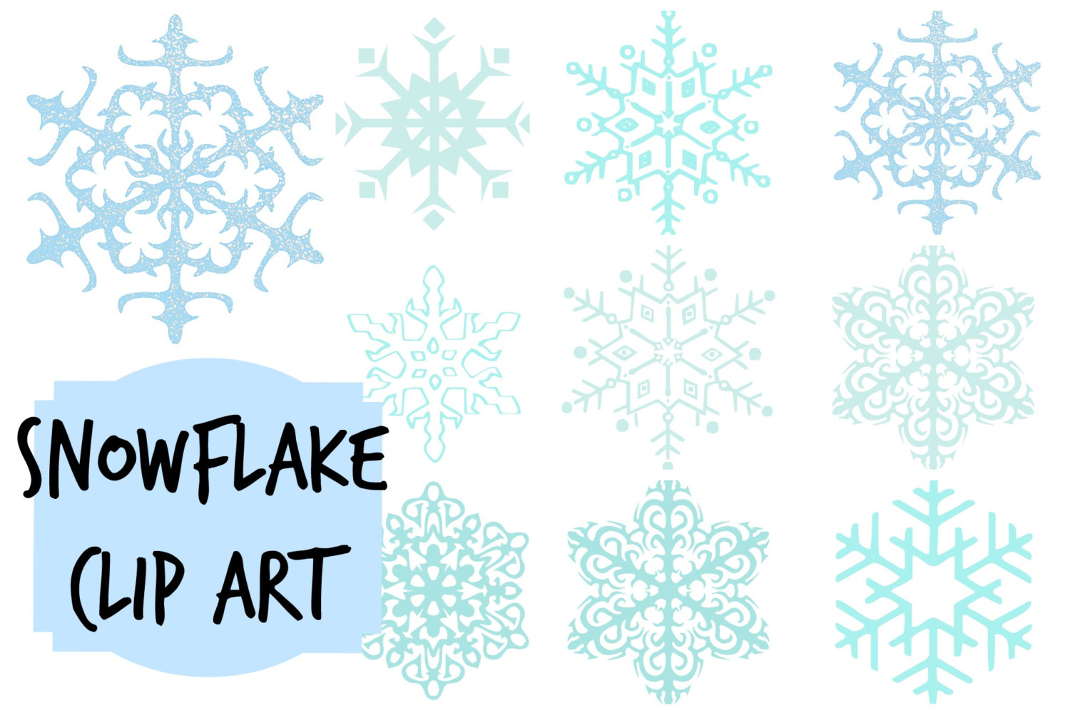 Snowflake Transparent Background - Cliparts.co
