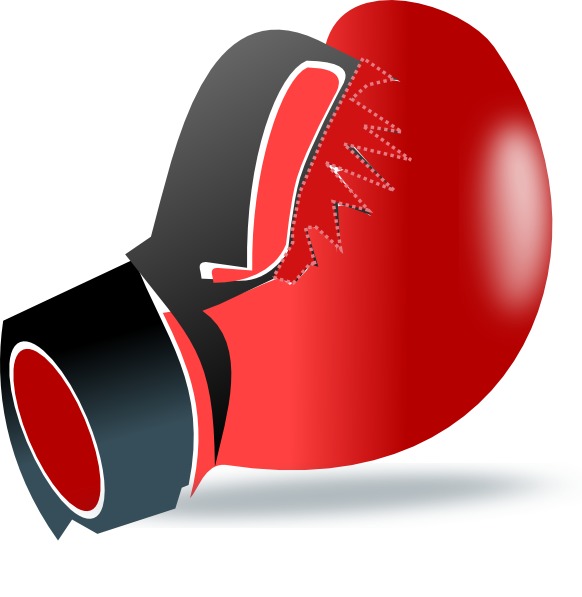 Boxing Glove clip art - vector clip art online, royalty free ...