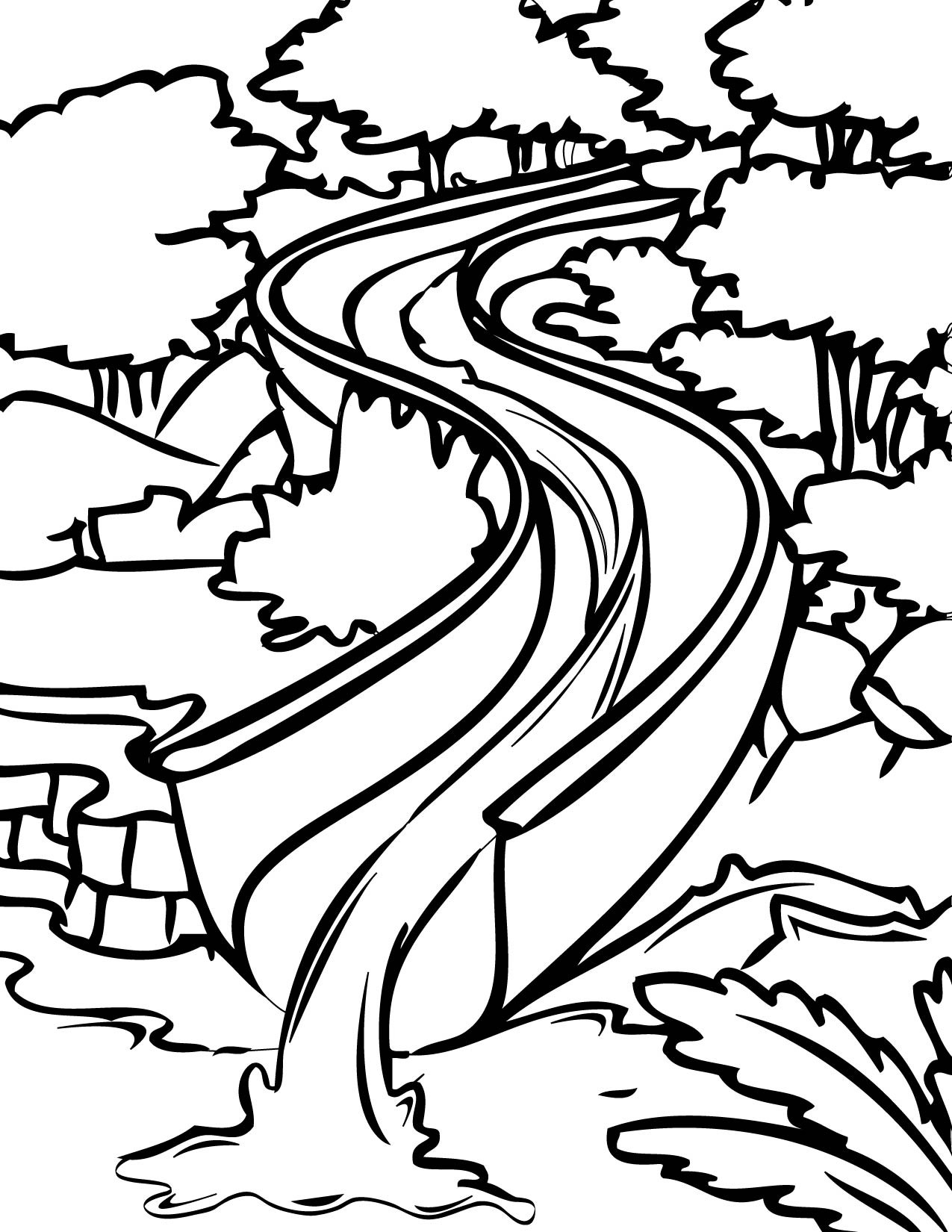 waterslide coloring pages - Roberto.mattni.co