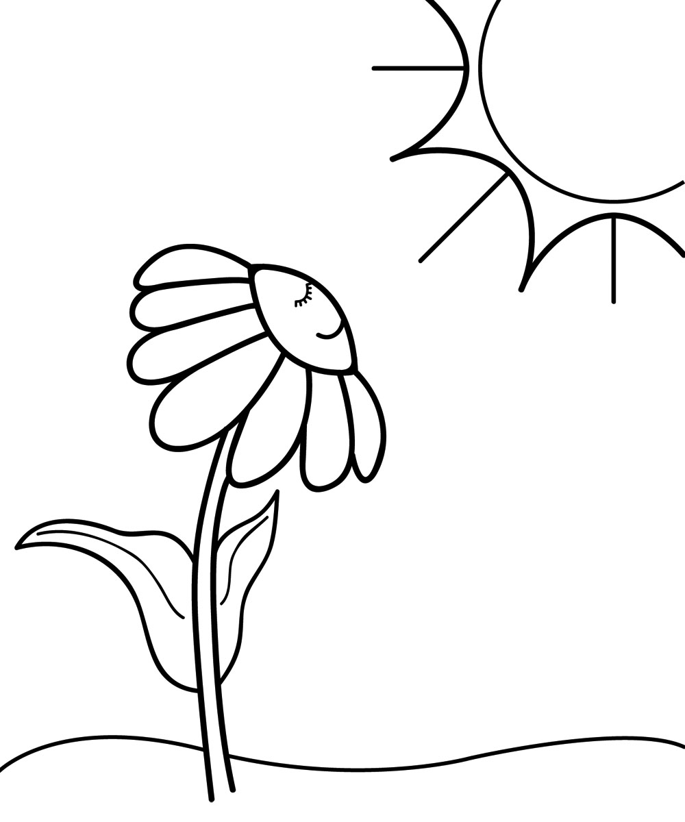 Sunny Clipart Black And White | Clipart Panda - Free Clipart Images