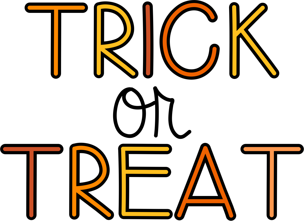 Trick Or Treat Candy Clipart Trick Or Treat Image - ClipArt