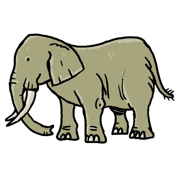 Pictures Of Elephants For Kids - Cliparts.co