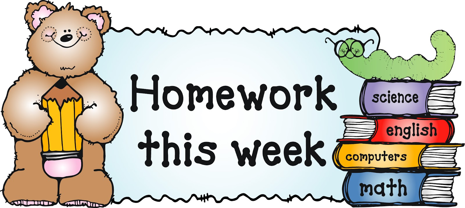 Image result for this weeks homework
