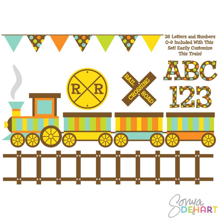 vector clipart train - photo #18