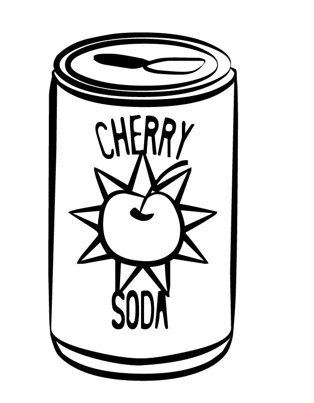Soda Can Clipart Cliparts Co Can Coloring Page