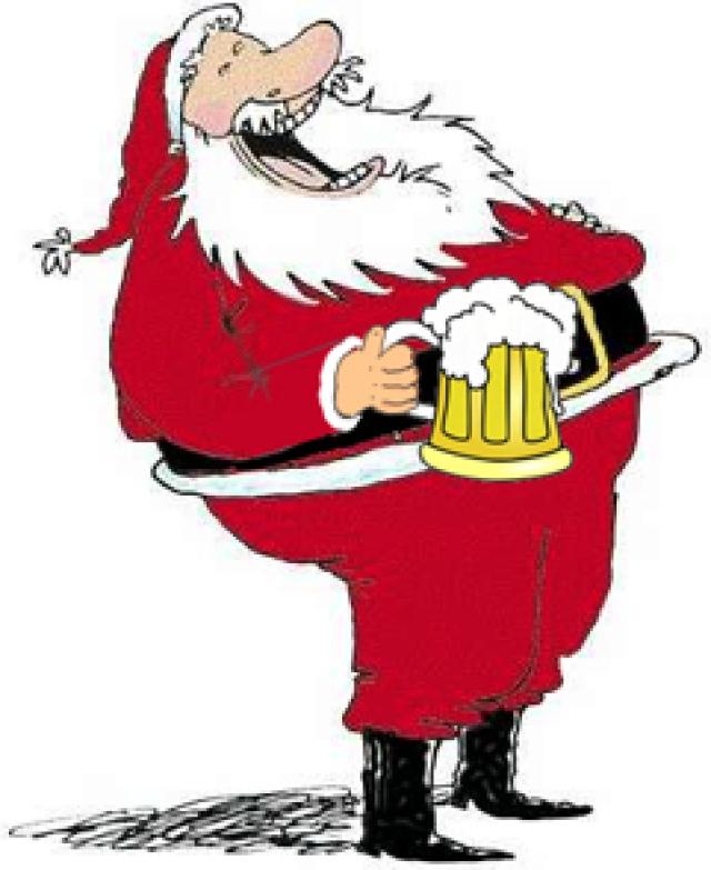 Drunk Santa Clip Art Clipartsco