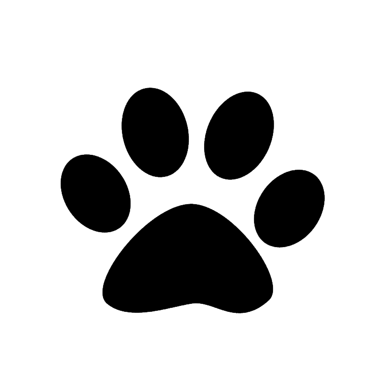 Paws Of Dogs Coloring Pages