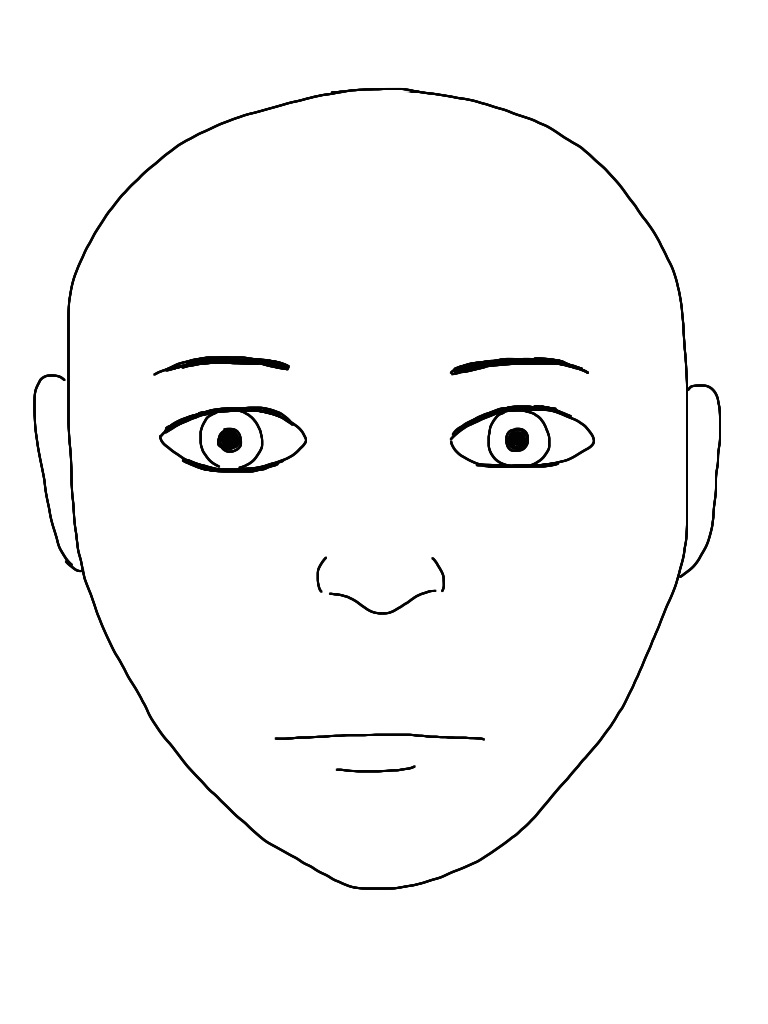 Blank Face - Cliparts.co